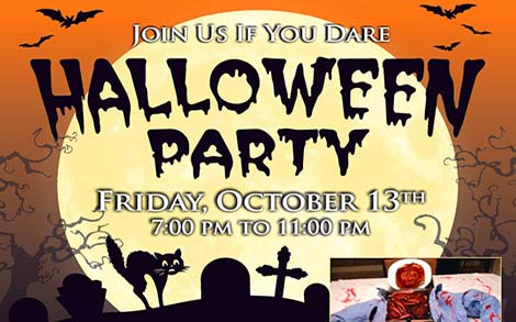 Halloween Party - Join Us If You Dare!